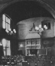 Photograph of the Cathedral Lounge at Moretonhampstead.