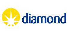 Diamond Light Source logo.